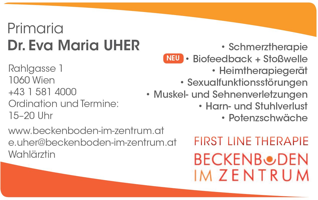 Kontakt Dr. Maria Uher