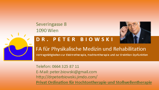 Kontakt Dr. Peter Biowski