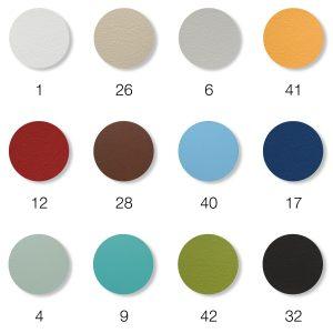 Jordan-Bezugsfarben-