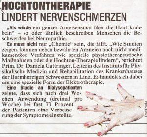 Quelle: Kronen Zeitung; Österreichische Schmerzgesellschaft