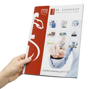 Katalog anfordern: Schuhfried Medizintechnik