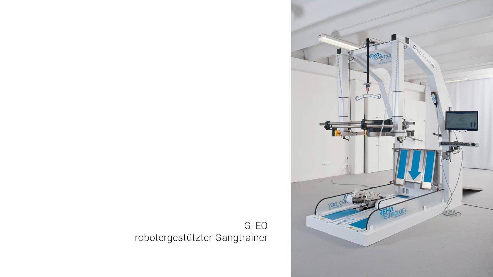 G-EO robotergestützter Gangtrainer