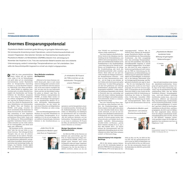 Physikalische Medizin Rehabilitation-2018